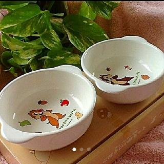 チップアンドデール(チップ&デール)の【新品】チップ&デール ごほうび小鉢セット(食器)