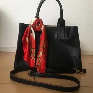 88a693f08685 オフオン(OFUON)の美品 OFUON スカーフ付き 2way バッグ (ハンドバッグ)