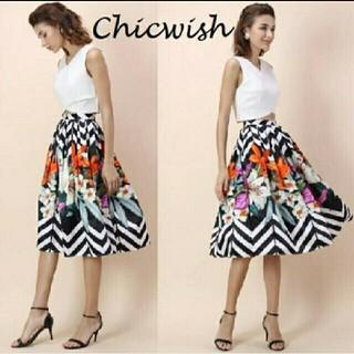 シックウィッシュ(Chicwish)のChicwish のスカート(ひざ丈スカート)