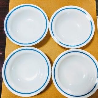 パイレックス(Pyrex)のオールド パイレックス ブルーライン 5点(食器)