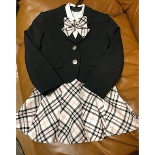 キスキス(XOXO)の小学生入学式スーツ、120㎝(ドレス/フォーマル)
