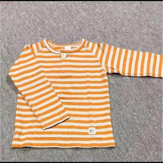 シップスキッズ(SHIPS KIDS)の【美品】SHIPS ボーダー ロンT(Tシャツ/カットソー)