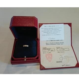 カルティエ(Cartier)のCartier 1Pダイヤ 48 ミニラブリング ピンクゴールド(リング(指輪))