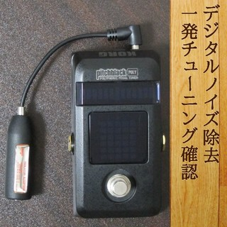 コルグ(KORG)の【デジタルノイズ対策】KORG PitchblackPOLY + ISOアダプタ(エフェクター)