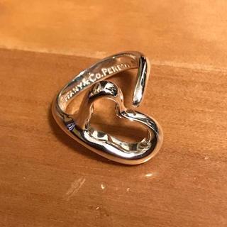ティファニー(Tiffany & Co.)のティファニー リング オープンハート シルバー 925 4号(リング(指輪))