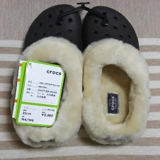 クロックス(crocs)の新品未使用★22㎝クロックス  (サンダル)