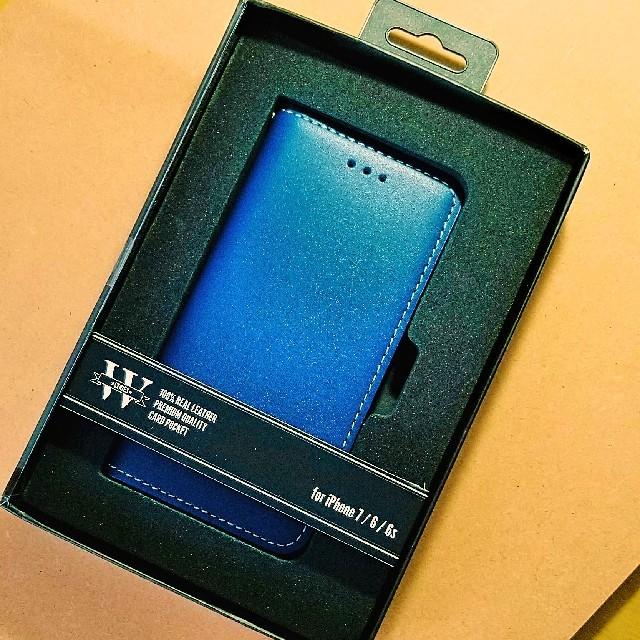 iphone7 ポリカーボネート ケース | iPhoneケース牛本革手帳型ケースレザーケースの通販 by おっちょ!'s shop|ラクマ