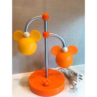 ディズニー(Disney)のミッキー電気スタンド(テーブルスタンド)