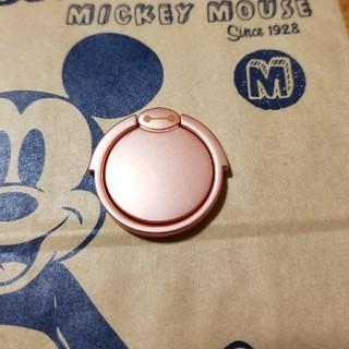 ディズニー(Disney)の新品 スマホリング ディズニーベイマックス ピンク(その他)