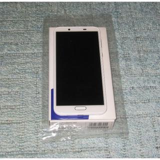 NTTdocomo - 【新品】AQUOS sense2 SH-01L ホワイト SHARP ドコモ