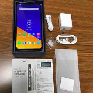 ASUS ZenFone5z SIMフリー 国内版 シャイニーブラック(スマートフォン本体)
