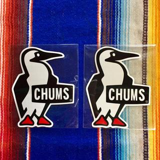 新品 CHUMS Sticker 2枚セット チャムス ステッカー d