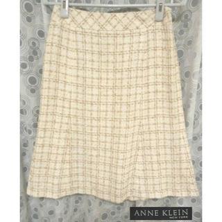 アンクライン(ANNE KLEIN)のアンクライン ANNE KLEIN スカート 9号 日本製(ひざ丈スカート)