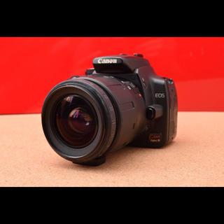 キヤノン(Canon)のCanon キャノン EOS Kiss Digital N レンズキット!1-9(デジタル一眼)