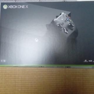 エックスボックス(Xbox)のXBOX ONE X 新品未開封(家庭用ゲーム本体)