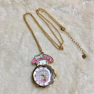 サンリオ(サンリオ)のマイメロディ 時計ネックレス(ネックレス)