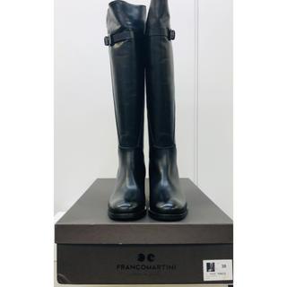 トゥモローランド(TOMORROWLAND)のFRANCO MARTINI♡ブーツ♡新品未使用♡ブラック38(ブーツ)