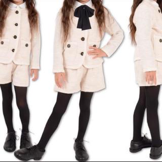 ジェネレーター(GENERATOR)のジェネレーター GENERATOR ツイード パンツ スーツ 入学式 120cm(ドレス/フォーマル)