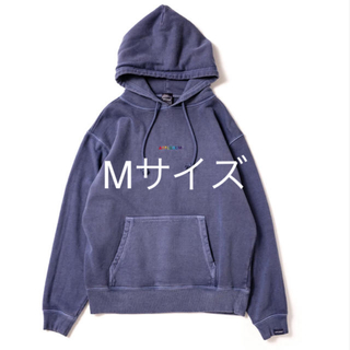 アップルバム(APPLEBUM)のRainbow Logo Pigment Sweat Parka(パーカー)