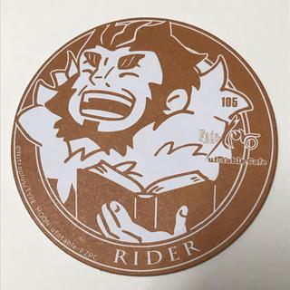 カドカワショテン(角川書店)のライダー イスカンダル コースター Fate/zero(ノベルティグッズ)