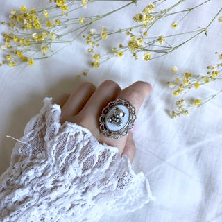 lace bear ring(リング)