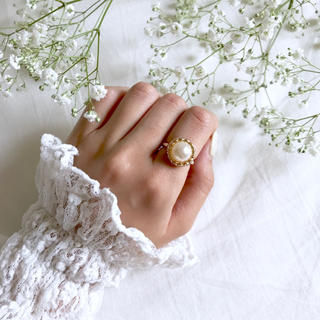 pearl ring(リング)