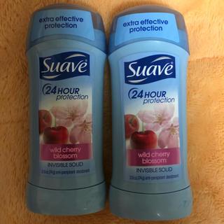スアーヴ(Suave)のSuave スアーヴ デオドラントスティック      2本(制汗/デオドラント剤)