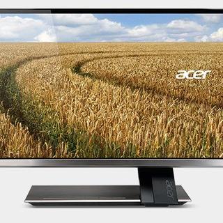 エイサー(Acer)の★美品★Acer S276HLTMJJ 27型ワイド 光沢ディスプレイ(ディスプレイ)