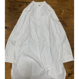 オムニゴッド(OMNIGOD)のOMNIGOT ノーカラーロングシャツ(シャツ/ブラウス(長袖/七分))