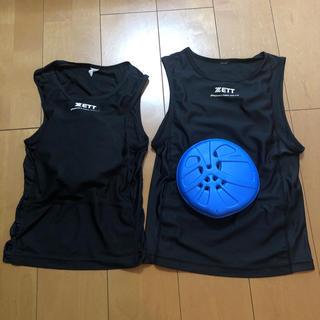 ゼット(ZETT)のZETT 胸パッド(防具)