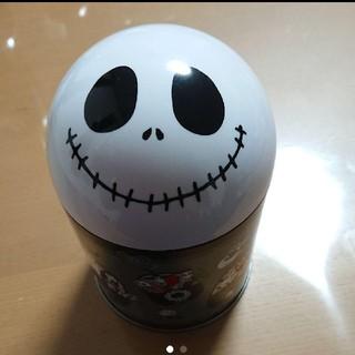 ジャック☆ナイトメアビフォアクリスマス ディズニー 缶(キャラクターグッズ)