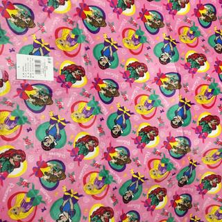 ディズニー(Disney)のディズニープリンセス♡フランネルラグ ラグカーペット 約180×180センチ(ラグ)