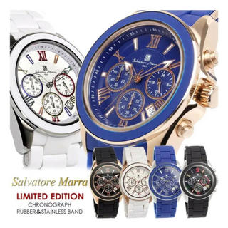 サルバトーレマーラ(Salvatore Marra)の限定モデル サルバトーレ マーラ クロノグラフ 腕時計(腕時計(アナログ))