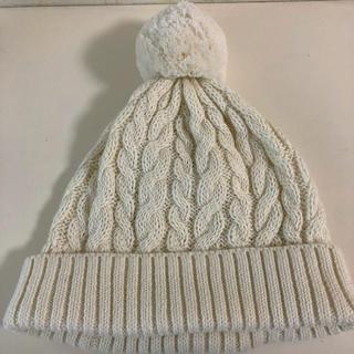 ムジルシリョウヒン(MUJI (無印良品))の無印 ニット帽 キッズ(ニット帽/ビーニー)
