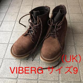 ウエスコ(Wesco)のViberg サイズUK9 スエードワークブーツ(ブーツ)