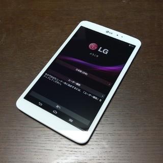 エルジーエレクトロニクス(LG Electronics)の【値下げ】LG G Pad 8.3 LG-V500 SD16GB付き(タブレット)