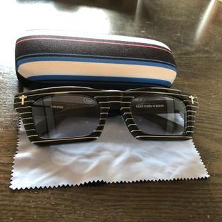 エフェクター(EFFECTOR)のEFFECTOR エフェクターDIRT ダート ストライプ BKST 眼鏡 美品(サングラス/メガネ)