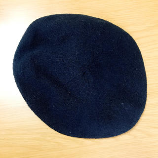 カシータ(casiTA)のベレー帽 ブラック(ハンチング/ベレー帽)
