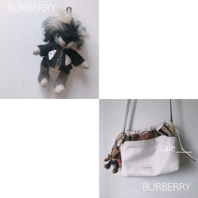 BURBERRY(バーバリー)のmiiii様専用/セット【コラボ】BURBERRY 17年 ヘンリームーア レディースのファッション小物(キーホルダー)の商品写真