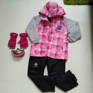 スワンズ(SWANS)のスキーウェア 手袋&ゴーグル セット(ウエア)
