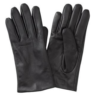 MUJI (無印良品) - 撥水レザータッチパネル手袋 21cm・黒