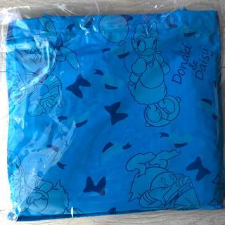 ディズニー(Disney)のドナルド  デイジー キッズレインポンチョ レインコート 雨具 (レインコート)