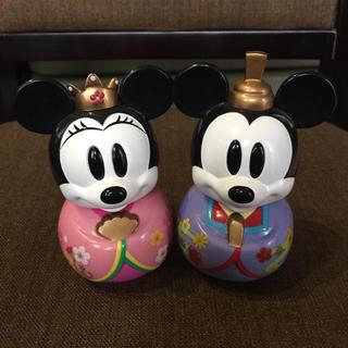 ディズニー(Disney)のミッキーミニー★ひな祭りお雛様★(置物)