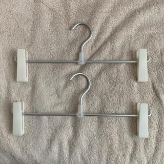 ムジルシリョウヒン(MUJI (無印良品))の無印良品 アルミハンガー2本セット(押し入れ収納/ハンガー)