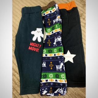 ディズニー(Disney)のベビー服 パンツ 90 3点(パンツ)