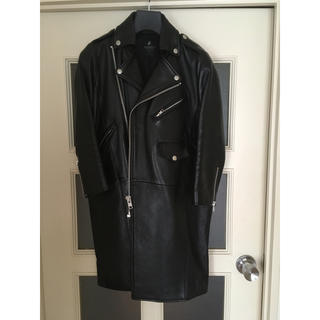 ザドレスアンドコーヒデアキサカグチ(The Dress & Co. HIDEAKI SAKAGUCHI)のTHE DRESS&CO. ライダースコート(ライダースジャケット)