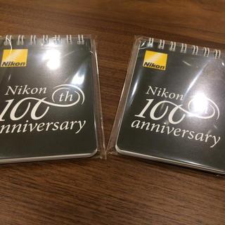 ニコン100周年記念メモ帳