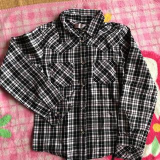 ニコルクラブ(NICOLE CLUB)のニコルクラブのピンク&黒のチェックシャツ(ブラウス)