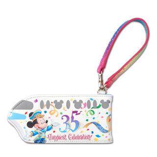 ディズニー(Disney)のディズニーランド35周年グランドフィナーレ パスケース(名刺入れ/定期入れ)