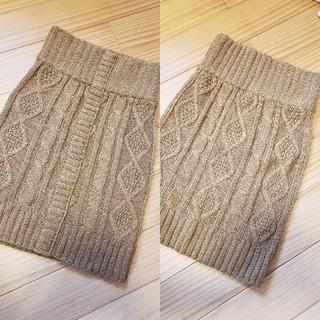 スライラング(SLY LANG)のSLY  LANG ニットスカート(ひざ丈スカート)
